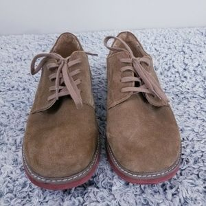 Sperry Top Sider Men's Brown Suede Leather Oxford